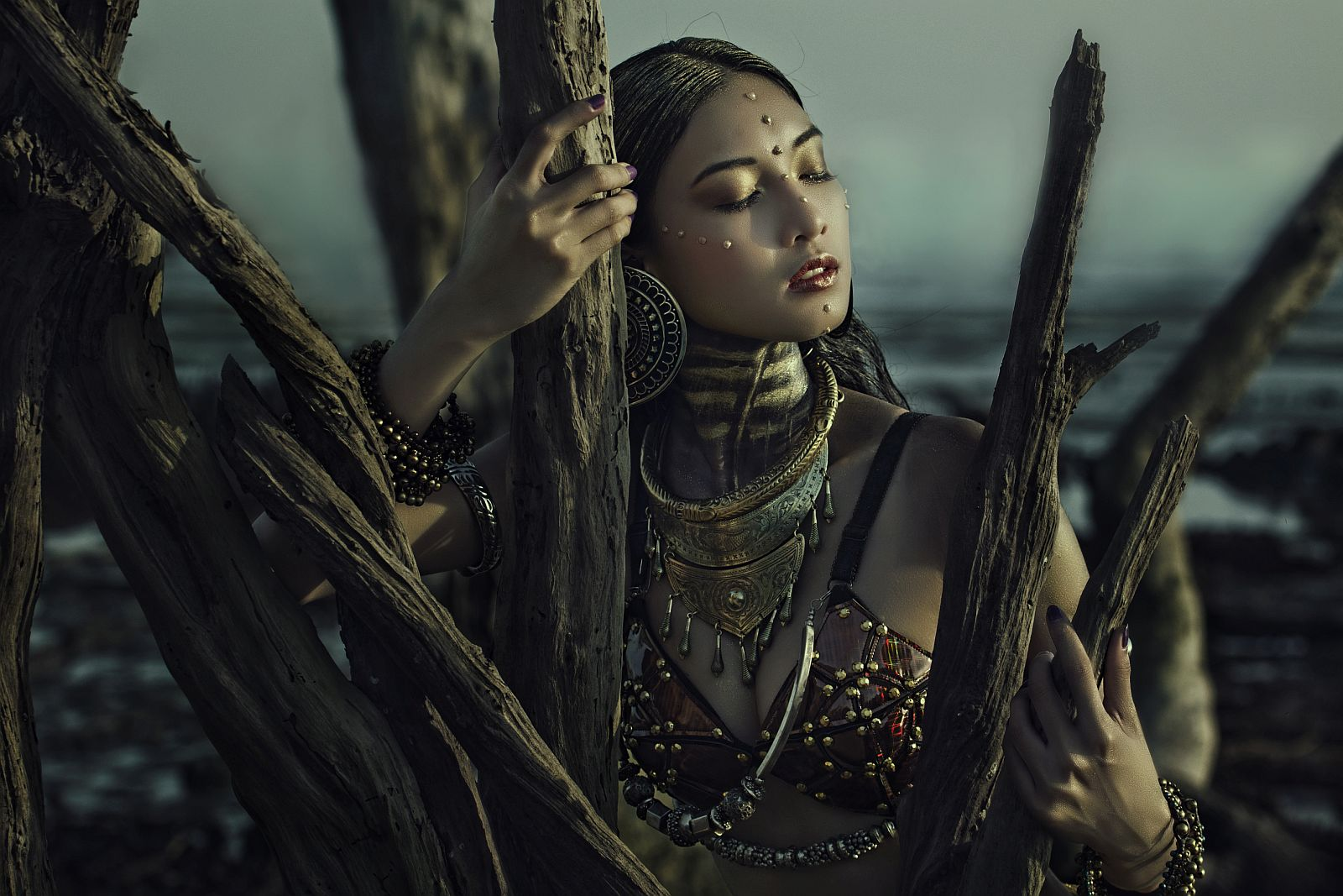 «Экзотическая красота». Третье место в номинации «Special fashion». Фото: May Sim