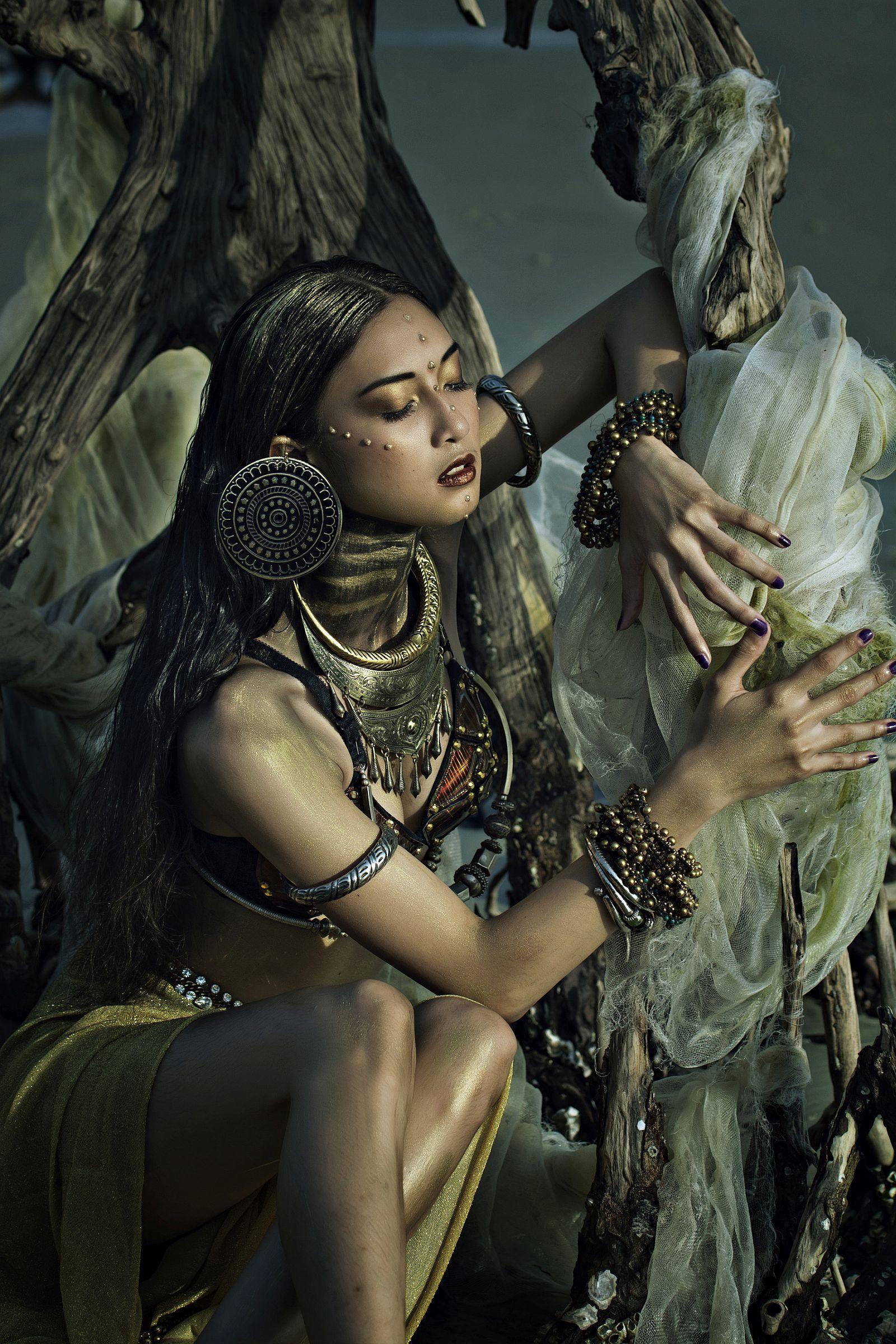 «Екзотична краса». Третє місце в номінації «Special fashion». Фото: May Sim