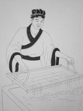 Виникнення паперу в Китаї