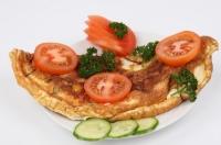 рецепт омлету з помідорами