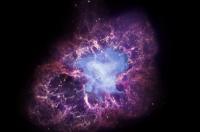 Фотографіі космосу. Крабоподібна туманність. Фото: sci.esa.int