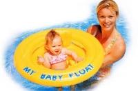 Детский надувной круг избавит вас от тревог на море