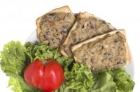 Бутерброды с баклажанной пастой по-гречески