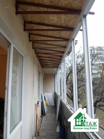 """Устройство/сварка/крыши на балкон - киев, """"4 этаж""""."""