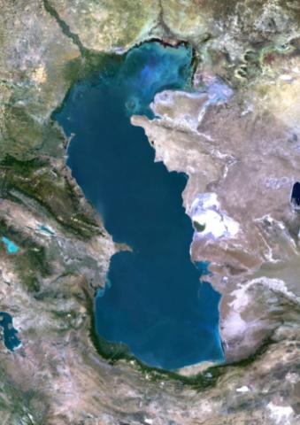 Самое большое озеро в мире — Каспийское море