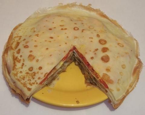 Как сделать торт с блинчиков