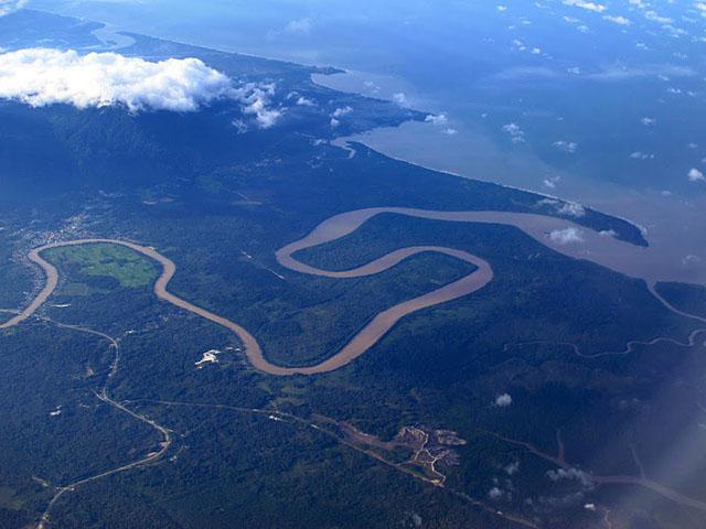 Найбільші острови світу: Калімантан. Фото: fee-dodo.livejournal.com