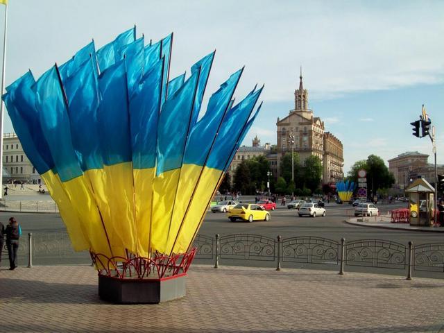 Визначні місця Києва: Майдан Незалежності. Фото: 777-konstantin.blogspot.com