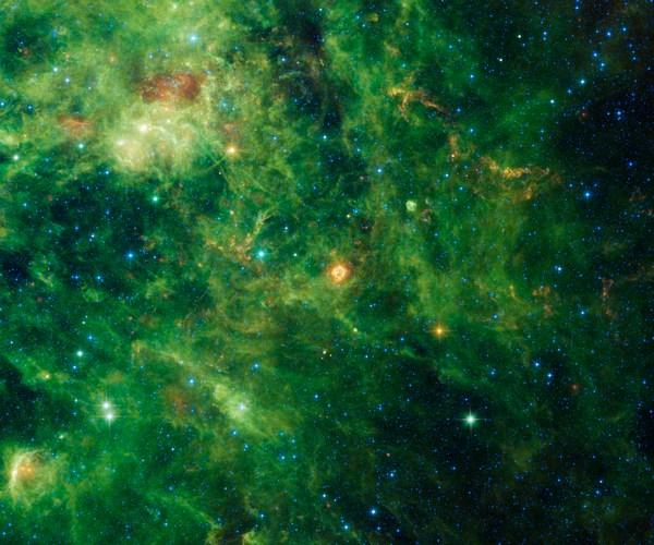 Фотографии космоса. Останки взрыва сверхновой звезды «Кассиопея А».