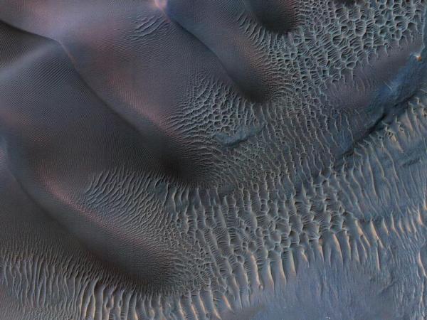 Фотографии космоса. Марсианские дюны.