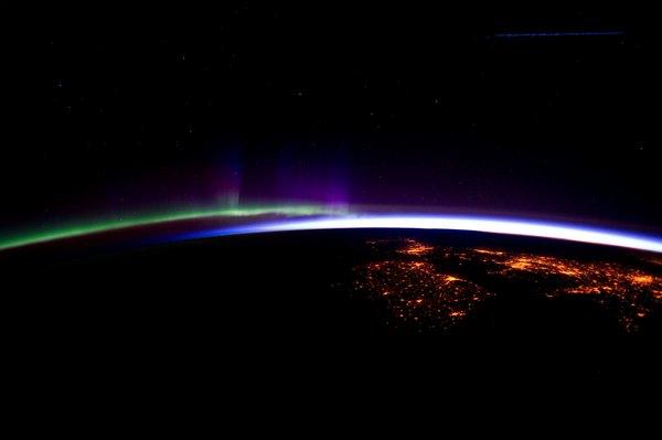 Фотографии космоса. Горизонт.