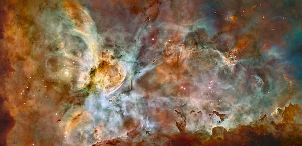 Фотографии космоса: фантастический процесс звёздообразования. Фото: ESA/Hubble