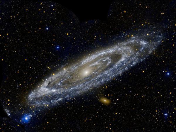 Фотографии космоса. Туманность Андромеды.