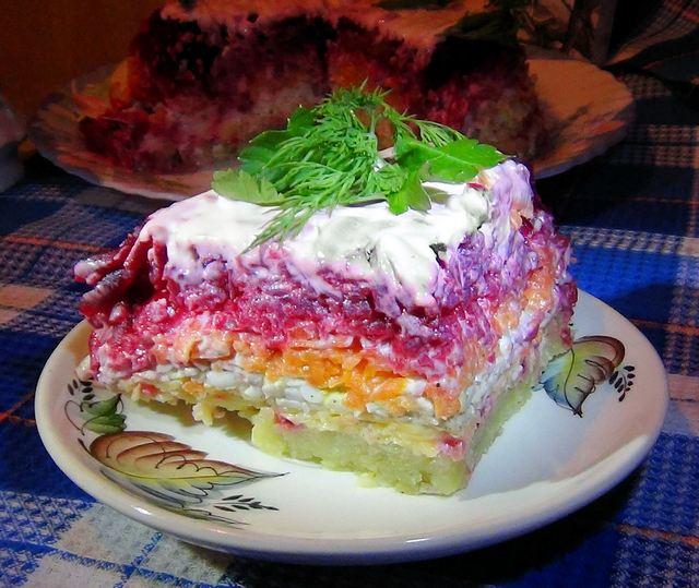 Смачний салат із буряка 'Мій генерал'. Фото: Карина Сафєдінова/Велика Епоха