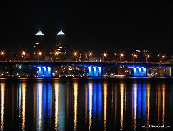 Достопримечательности Днепропетровска: город мостов и фонтанов