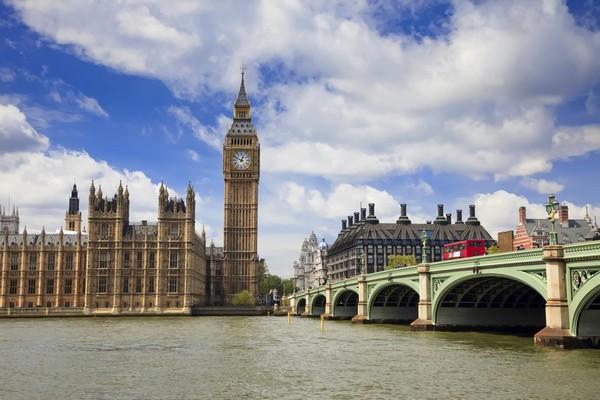 Самый красивый город в мире: Биг Бен и здание Парламента.