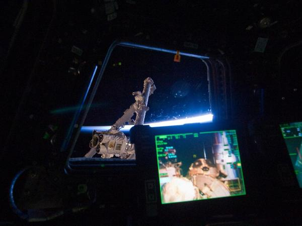Фотографии космоса. Вид из модуля МКС «Купол».