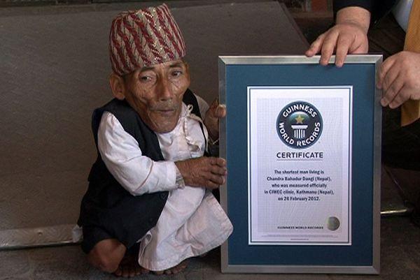 Самому маленькому человеку в мире 72 года! Фото: Krish Dulal/en.wikipedia.org