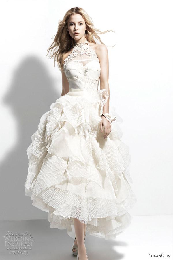 Свадебная мода 2013, «Manila». Фото: weddinginspirasi.co