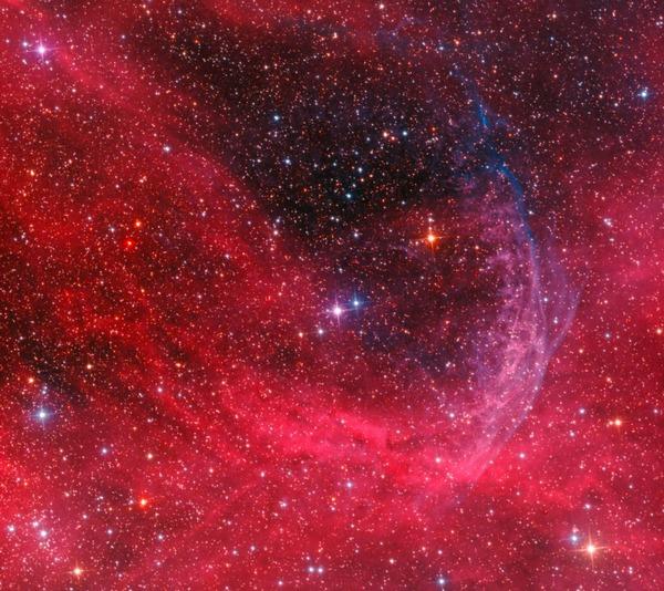 Фотографии космоса. Кольцевая туманность WR 134. Фото: Don Goldman/astrodonimaging.com