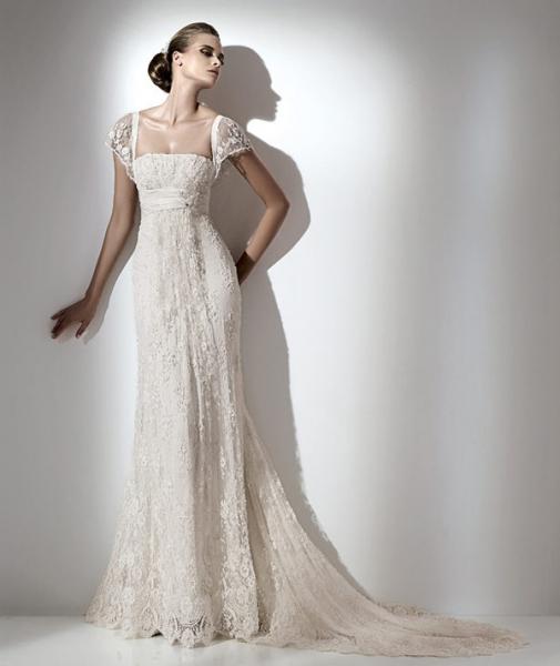Елі Сааб: весільна сукня. Фото: efu.com.cn