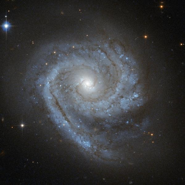 Фотографии космоса. Спираль внутри спирали.