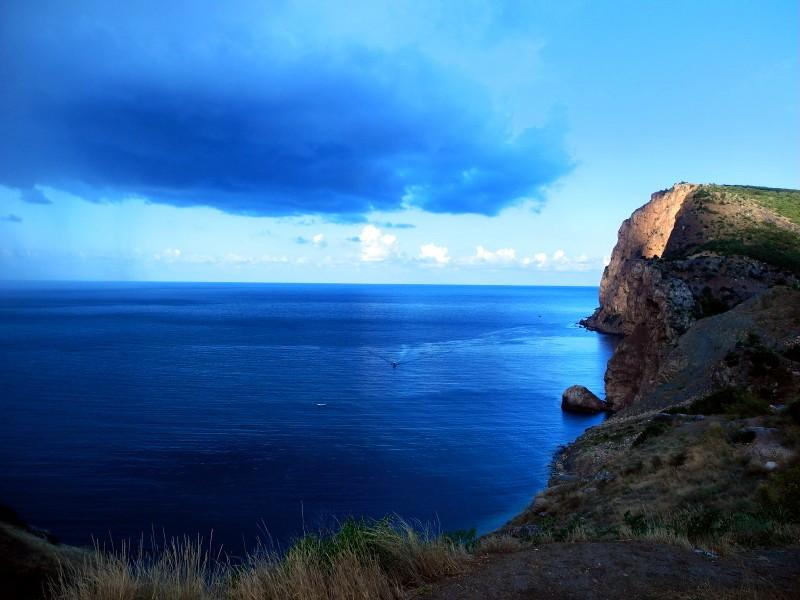 Пляж Васили в Василева балке близ Балаклавы. Фото: Алла Лавриненко/Великая Эпоха