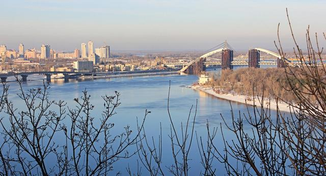 Достопримечательности Киева: панорама Днепра. Фото: K@llipso/photo.i.ua
