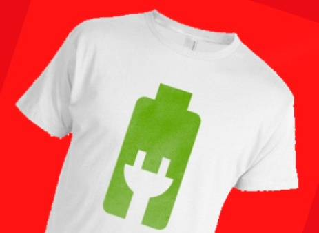 Новые технологии сделали возможным зарядку электронных устройств от футболки. Фото: Svit24.net
