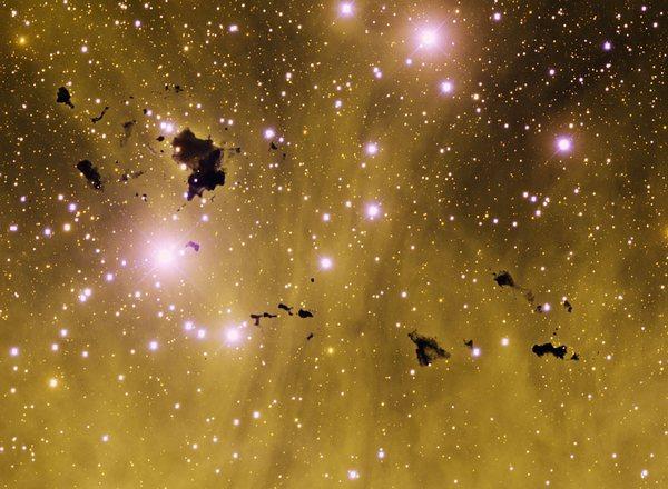 Фотографии космоса. Глобулы Теккерея. Фото: NASA & T. Rector/uaa.alaska.edu