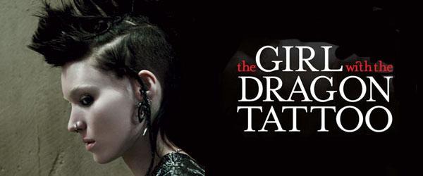 Девушка с татуировкой дракона по-голливудски