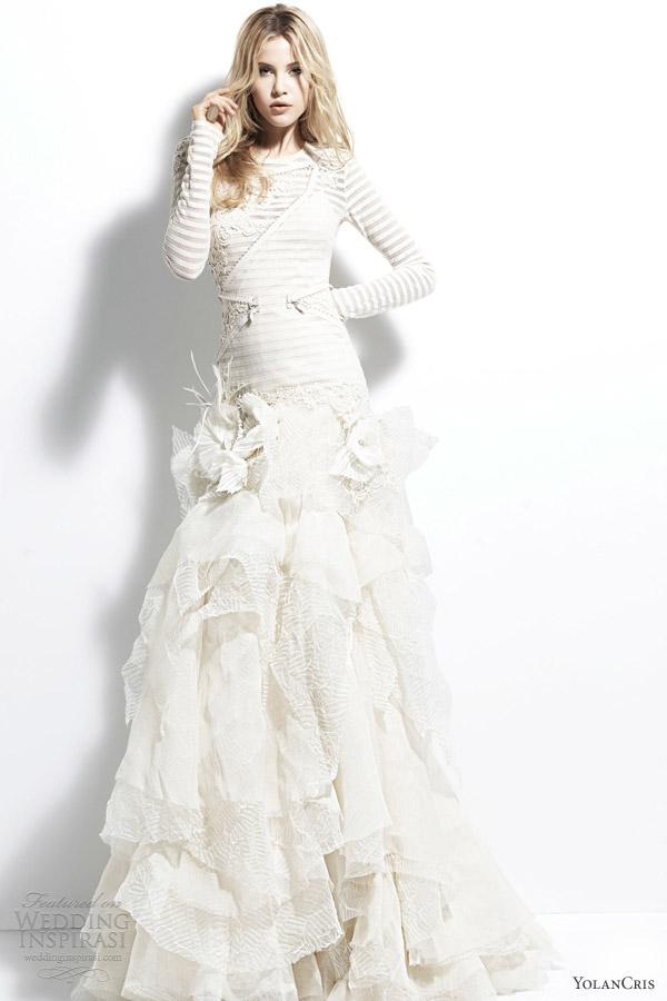 Свадебная мода 2013, «Angola». Фото: weddinginspirasi.co