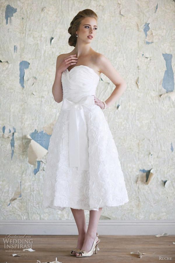 Свадебные платья в ретро стиле от ruche