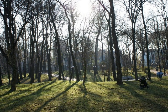 Визначні місця Києва: Маріїнський парк. Фото: Юрій Петюк/Велика Епоха