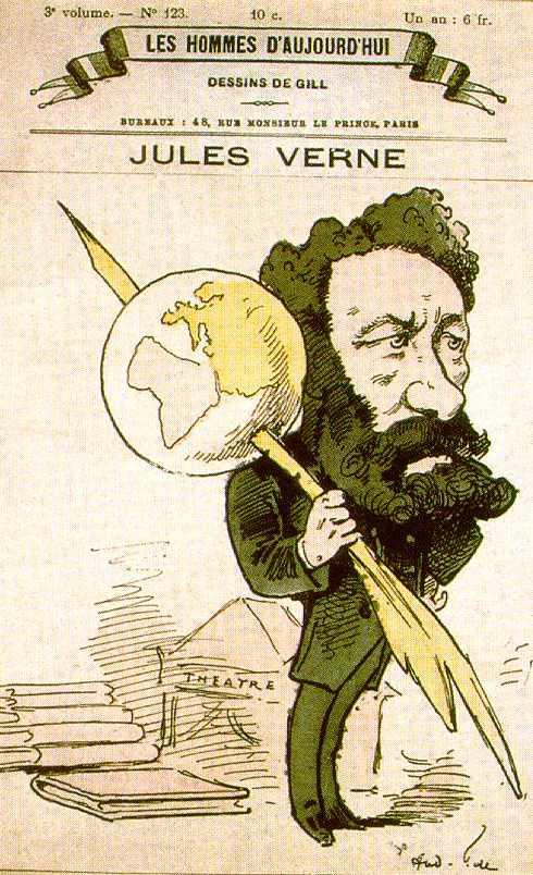 Множество невероятных фактов связано с жизнью Жюль Верна.