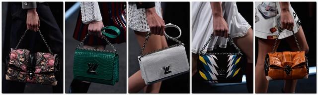 Модні сумки louis vuitton весна літо 2015