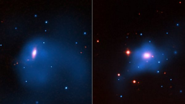 Фотографии космоса. Чёрные дыры и тёмная материя.