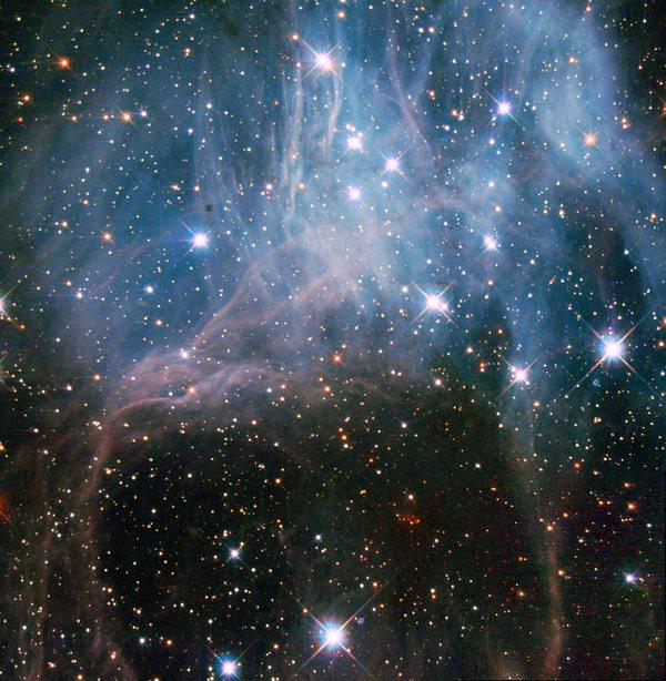 Фотографии космоса. Звёздное облако.