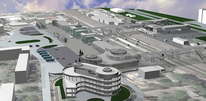 Железнодорожный вокзал Донецка готовится к Евро -2012