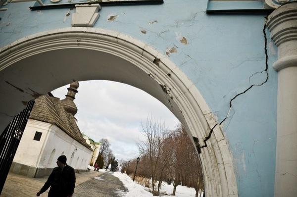 Памятники Киева в опасности