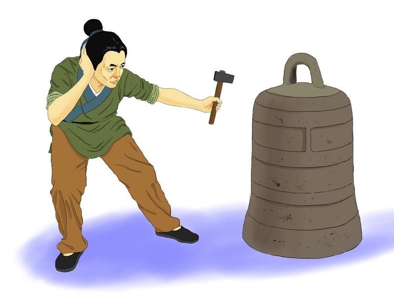 культура китая - красть колокол, прикрывая уши (китайская идиома)