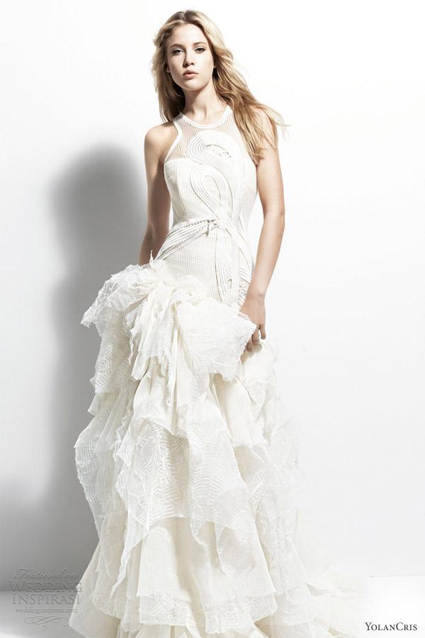 Свадебная мода 2013, «Belgica». Фото: weddinginspirasi.co