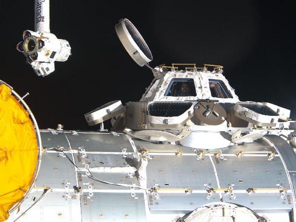 Фотографии космоса. Модуль МКС «Купол».