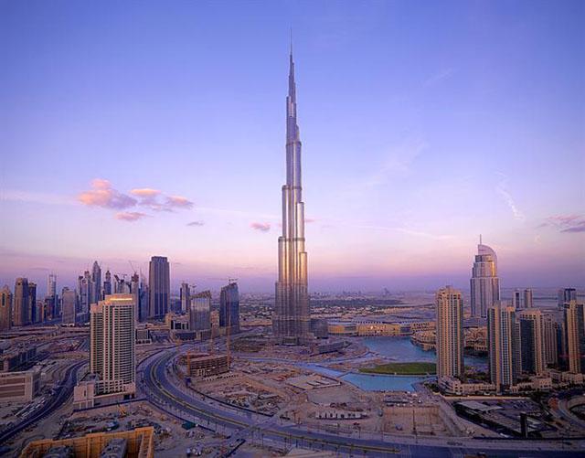 самое высокое здание в мире Бурдж-Халифа. Фото: burjkhalifa.ae