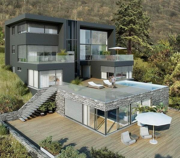 За строительство самого дорогого дома в мире взялась швейцарская компания «exklusivHAUS».