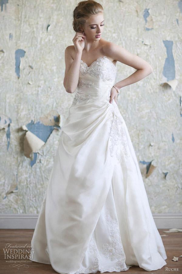 Весільні сукні в ретро стилі від ruche