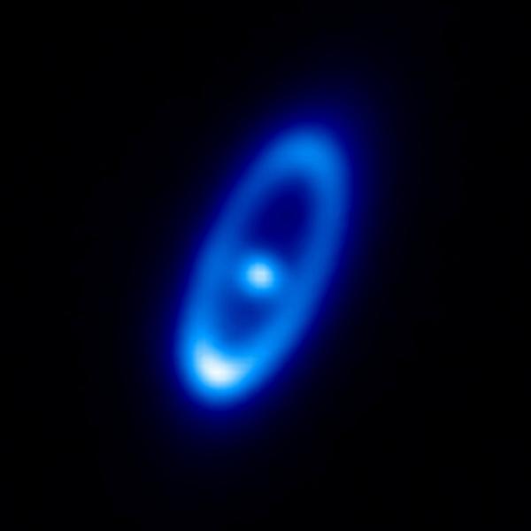 Фотографии космоса. Пылевой пояс вокруг Фомальгаута.