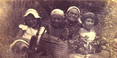 Щаслива сім'я. Зв'язок поколінь. Фото: Олена/kusmin.blogspot.com