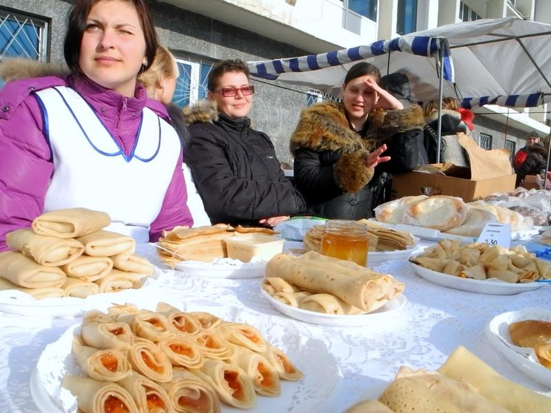 Масленицу в Севастополе праздновали два дня