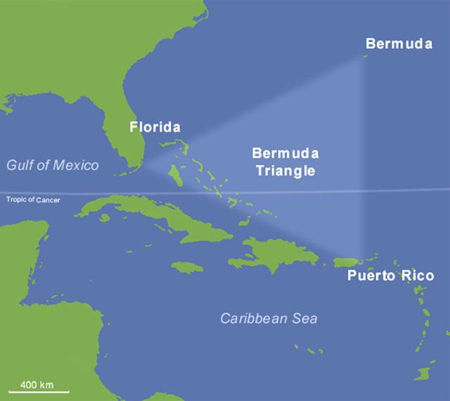 Тайны мира: Бермудский треугольник.